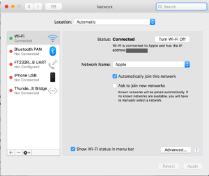 pengaturan wi-fi macbook