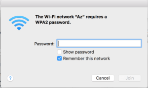 log in wi-fi macbook